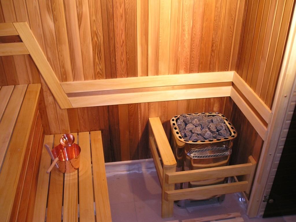 Строительство сауны в квартире своими руками